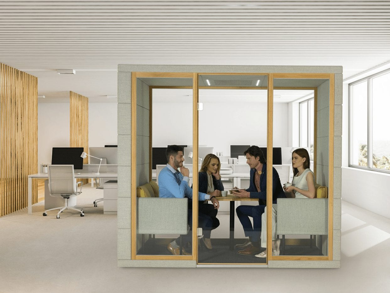 silent Qube Q3 Meetingbox
