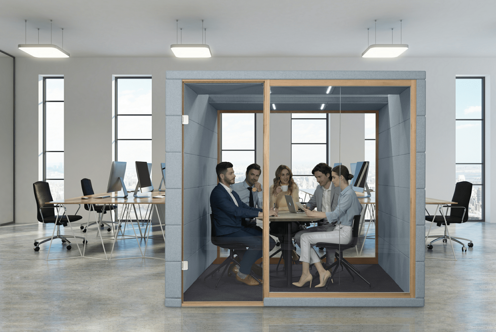 silent Qube q4 Meetingbox