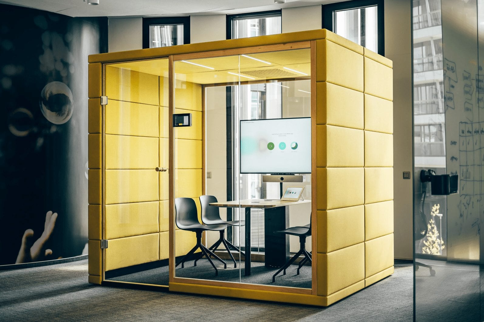 Bürokabine silent Qube q4